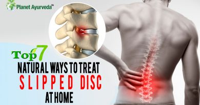 Natural Ways to treat slipped disc