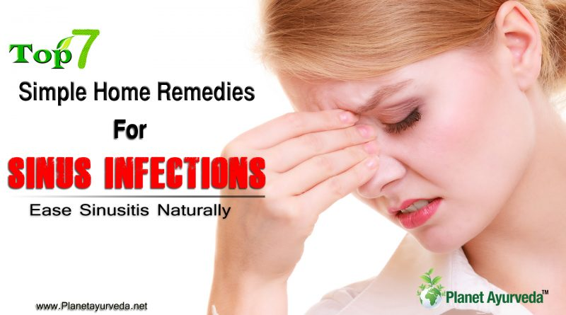 7 Simple Home Remedies for Sinus Infections