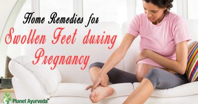 Home Remedies for Swollen Feet during Pregnancy