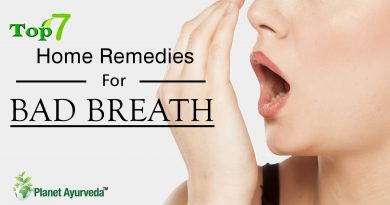Top 7 Home Remedies for Bad Breath
