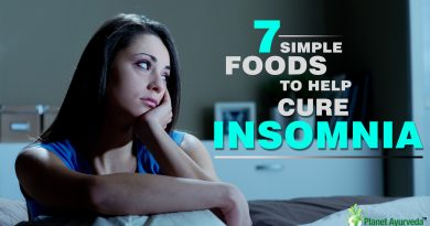 7 SIMPLE FOODS TO HELP CURE INSOMNIA