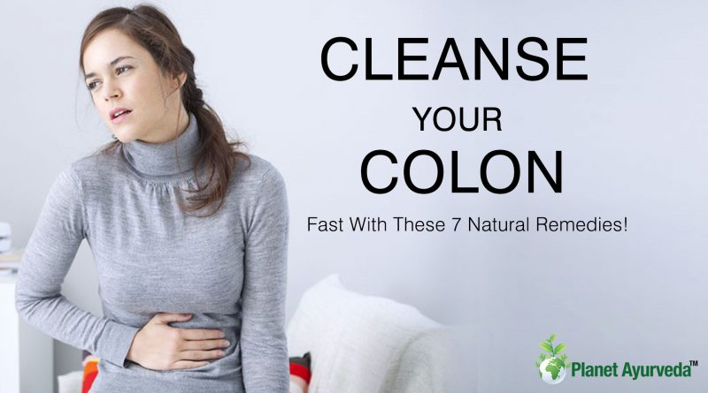 CLEANSE YOUR COLON Fast With These 7 Natural Remedies!
