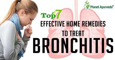 Top 7 Effective Home Remedies To Treat Bronchitis