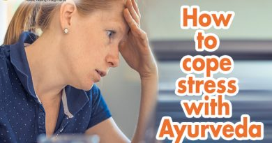 How to Cope Stress with Ayurveda