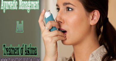 Ayurvedic Management and Treatment of Asthma