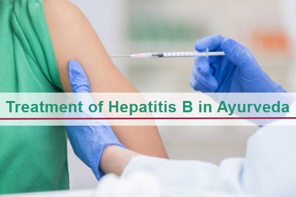 Treatment of Hepatitis B in Ayurveda