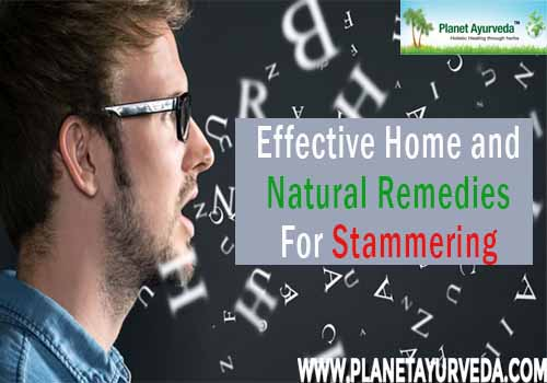 Natural Remedies For Stammering