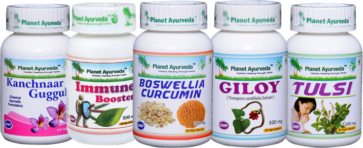 Herbal Supplements for Ganglionic Hyperplasia