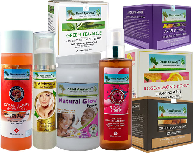 Beauty Products of Planet Ayurveda