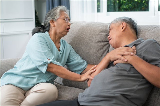 Symptoms of megalocardia