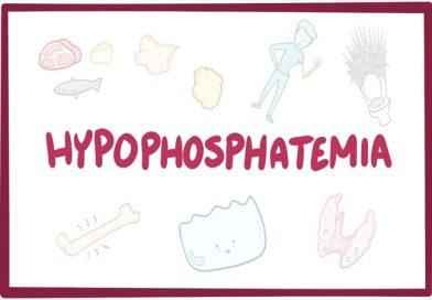 Hypophosphatemia(Electrolyte Disorder)